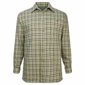 Hoggs Of Fife Bracken Micro-Fleece Lined Checked Shirt