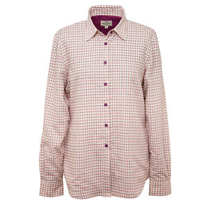 Hoggs Of Fife Ladies Alba Jersey-lined Shirt
