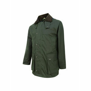 Hoggs Of Fife Men's Waxed Jacket Padded - Olive Green