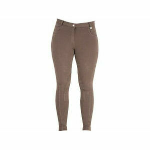 HyPERFORMANCE Melton Ladies Jodhpurs - CHOCOLATE