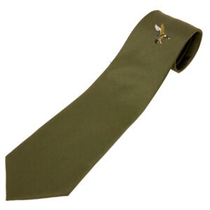 No.5 Single Duck Polyester Tie by Bisley