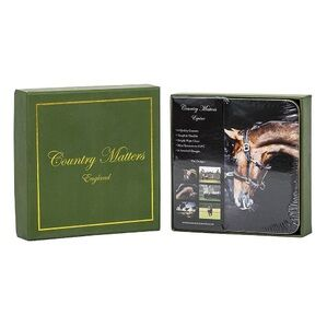 Country Matters Coasters - Equine