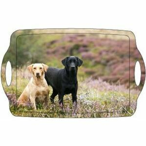 Country Matters Serving Tray - Labs On Moor