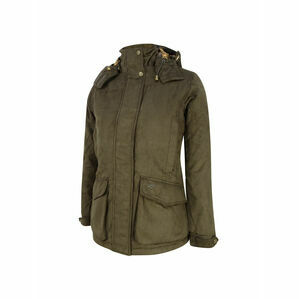 Hoggs Of Fife Ladies Hunting Jacket Rannoch - Brown