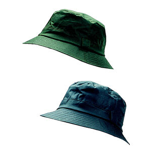 Hoggs Of Fife Waxed Bush Hats - Dark Olive