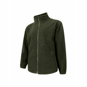 Hoggs Of Fife Bute Fleece Jacket - Green