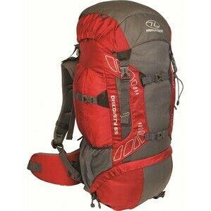 Higlander Discovery 65 Litre Red Hiking Rucksack