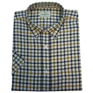 Hoggs Of Fife Short-sleeved Checked Shirt - bold check