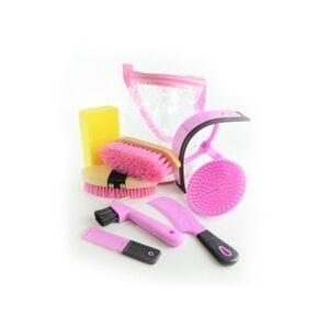 Horse Grooming Kit - Pink