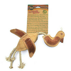 MIRO & MAKAURI Dead Duck Prey Toy. Natural Eco-Friendly Dog Toys 44cm