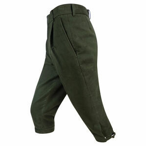 Hoggs of Fife Moleskin Shooting Breeks - Dark Olive