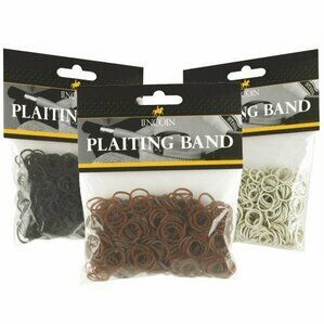 Lincoln Plaiting Bands - Black