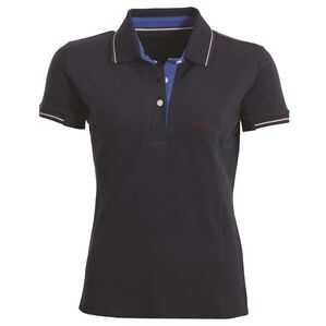 Mark Todd Betty Short Sleeve Polo Shirt - Navy