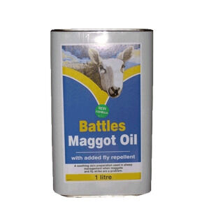 Battles Maggot Oil - 1ltr