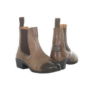 Toggi Newton Oak Leather Riding Boots - Brown