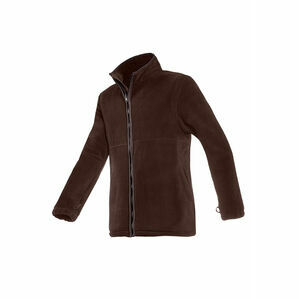 Baleno Henry Mens Fleece Jacket in Chocolate Brown