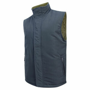 Hoggs of Fife Breezer II Bodywarmer - Navy/Caramel