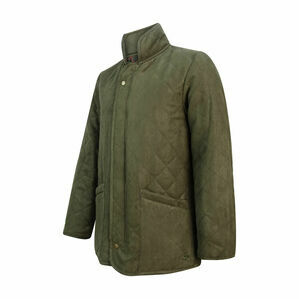Hoggs of Fife Carlton Quilted Jacket - Dark Green