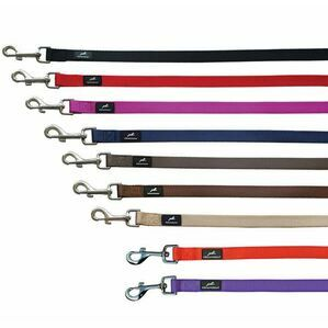 Miro&Makauri Nylon Leads with Padded Handle - 20mm x 120cm
