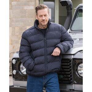 Hoggs of Fife Rex Quilted Jacket - Navy