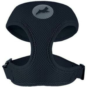 MIRO&MAKAURI Air Mesh Step In Vest Dog Harness - Black