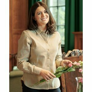 Hoggs Brook Ladies Miniature Check Cotton Shirt