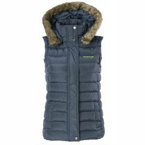 Kanyon Rockall Hooded Puffer Gilet - Dark Navy