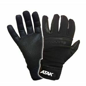 Atak Black Equus Equestrian Gloves