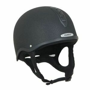 Champion Black X-Air Riding Helmet Plus
