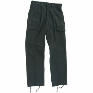 Blue Castle Black Combat Trousers