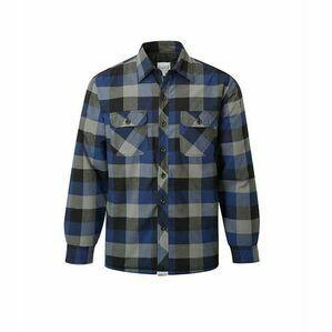 Castle Navy Flint Padded Shirt 109