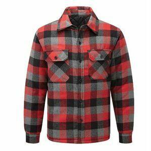Castlle Red Flint Padded Shirt 109