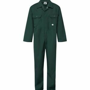 Castle Stud Boiler Suit - Green