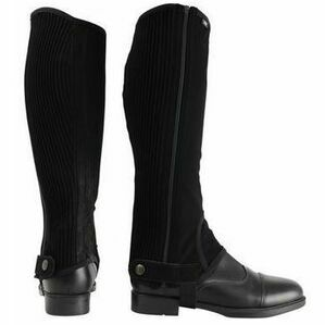 Hyland Black Nubuck Synthetic Chaps