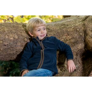 Baleno Navy Cody Children's Fleece Jacket 837B