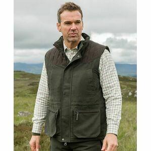 Hoggs of Fife Kincraig Field Waistcoat - Olive Green