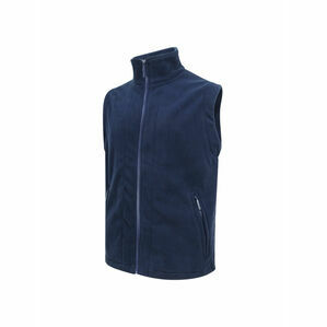 Hoggs of Fife Navy Rothesay Fleece Gilet