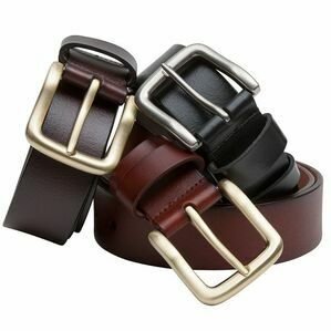 Hoggs of Fife Dark Brown Luxury Leather Belt