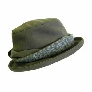 Hoggs Albany Ladies Waterproof Hat With Lambswool/Tweed Twist