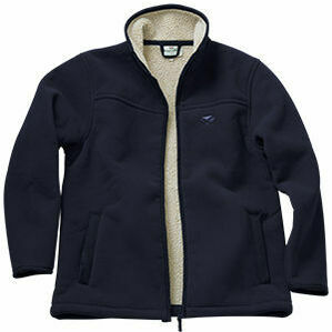 Hoggs Clydesdale Heavy Fleece Jacket - Navy