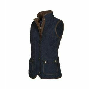 Baleno Scarlet Quilted Bodywarmer - Navy Blue