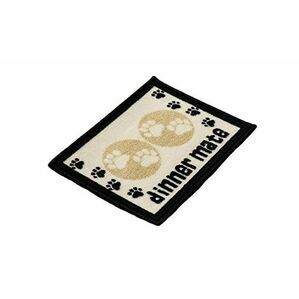 Dog Food Mat Dinner Mate From Pet Rebellion - Cream