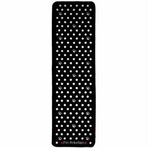 Dog Runner Extra Large Mat From Pet Rebellion - Black Spotty