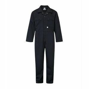 Blue Castle Zip Boiler Suit - Navy 366