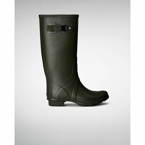 Huntress Women's Field Wellies - Dark Olive Green