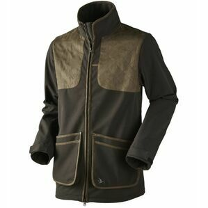 WINSTER SOFTSHELL JACKET BLK COFFEE SEELAND