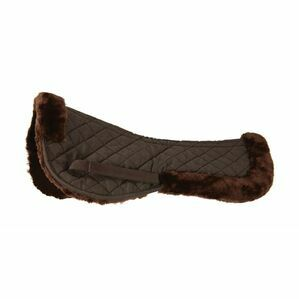 HYSPEED BRN FAB FLEECE HALF PAD                        10794