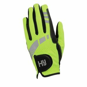 HY5 EXTREME YELLOW REFLECTIVE SOFTSHELL GLOVES