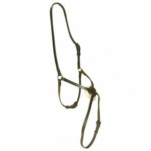 Hy Mexican Cob Grackle Nose Band - Brown