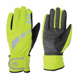 Hy5 Reflective W/P Multipurpose Gloves - Yellow/Black